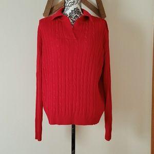 White Stag Woman's Sweater  EUC